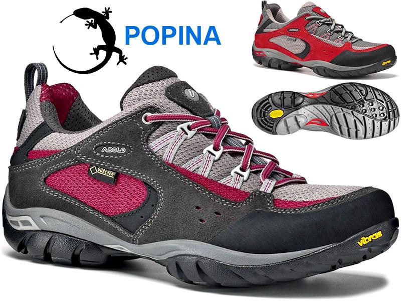 Dámská nízká treková obuv s Natural Shape technologií. GORE-TEX membrána 13f52bf59d